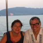 en fev 2005, sur le bateau de Blue Planet (Thaïlande)