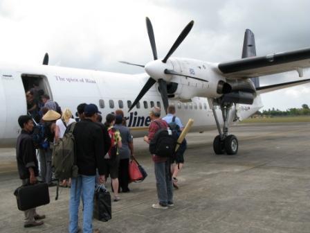 Départ de Bali, en route vers Flores