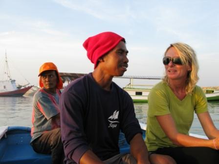 En route vers Waha (île Tomia - Wakatobi)