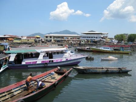 Port de Manado (Nord Sulawesi)