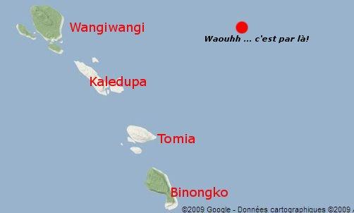 Waoohh - A l'est de Wakatobi