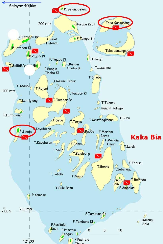 Le parc de Taka Bonerate (Tukangbesi) et ses sites de plongée