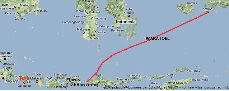 Flores - Ambon en passant par Wakatobi