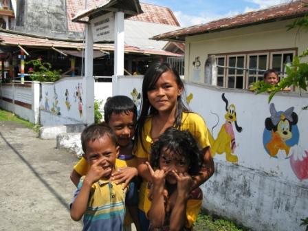 Enfants de Ruang Island