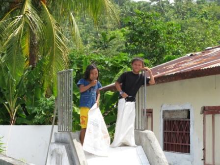 Sourires d'enfants (Ruang Island)