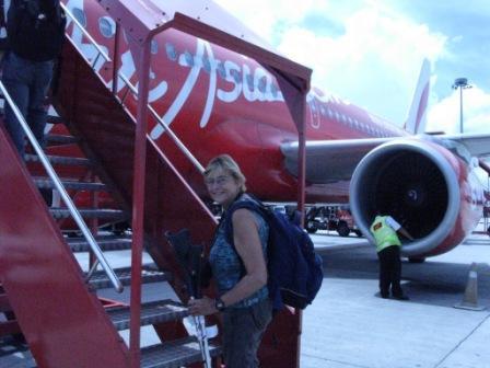 Retour vers Manado