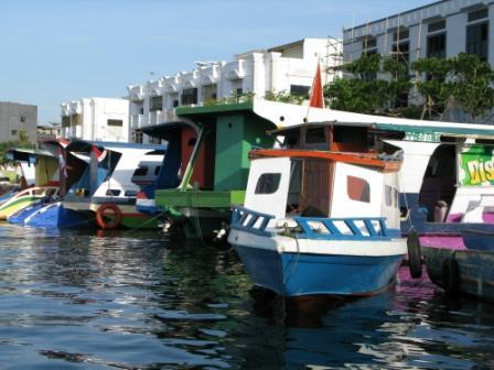 Manado, le port