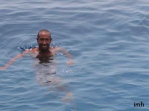 Croisière Nord - Le bain du capitaine